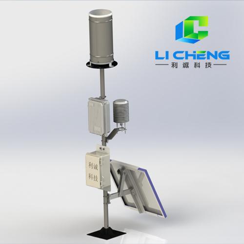 LCY-YLZ2型自动雨量温湿度站